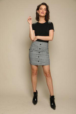 חצאית פפיטה מיני